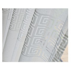 Window Sheers Valance White Patterned Sheer Curtains Drapes