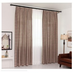 Bedroom or kitchen Room Classic Gingham Curtains Shades